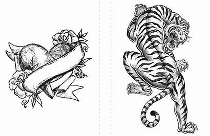 Tiger Coloring Pages Adult Tattoos Zoom Tattoo