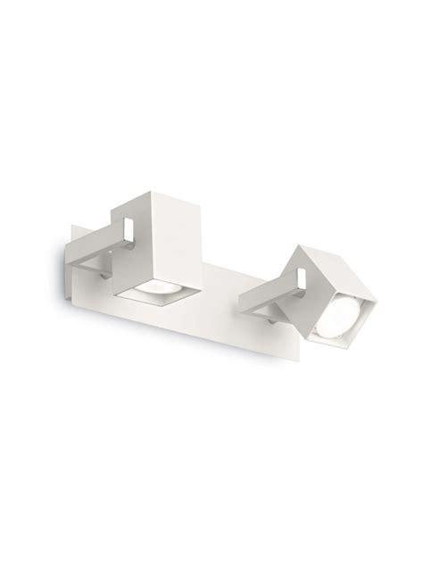 Faretti Applique by Applique Con Faretti Spot Moderno Mouse Ap2 Bianco