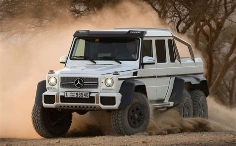 Mercedes G63 Amg 6x6 by Mercedes G63 Amg 6x6 Priced At 547k Photos 1 Of 3