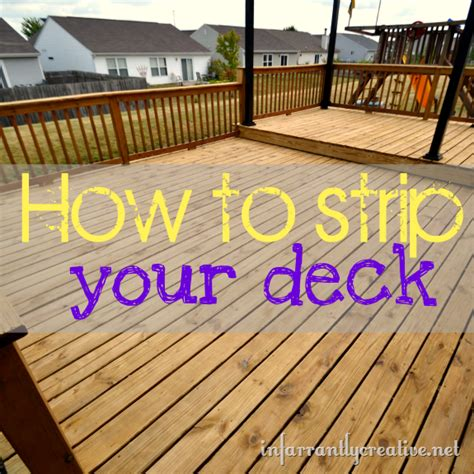 strip  deck infarrantly creative