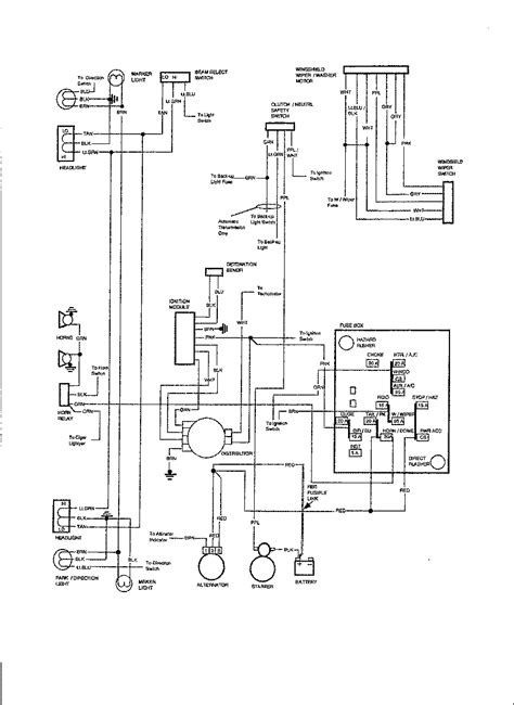 Gmc Ignition Wiring Diagram by I Am Looking For A Simple Wiring Diagram For 1980 Gmc Pu