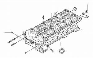 Bmw 330i Cylinder Head With Bearing Ledges  Engine