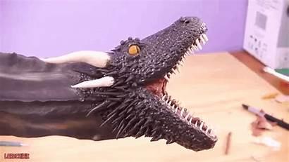 Clay Thrones Polymer Head Dragon Drogon Sculpt