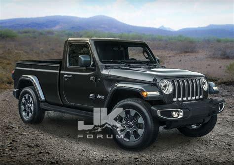 Jeep Truck Concept jeep scrambler regular cab imagined in artist s renderings