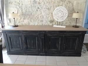 buffet 4 portes meuble metier pinterest portes With photo de meuble de cuisine 16 meuble bois massif salon et sejour buffet enfilade bahut