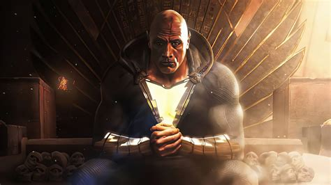 Black Adam 4k Art 2021 HD Movies Wallpapers   HD ...