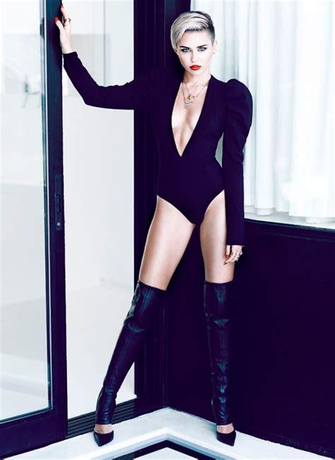 miley cyrus  fashion magazine november  issue