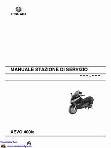 Piaggio Xevo 400 Workshop Manual
