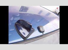 BMW E46 Shark Fin Antenna Retrofit for SiriusXM Roof