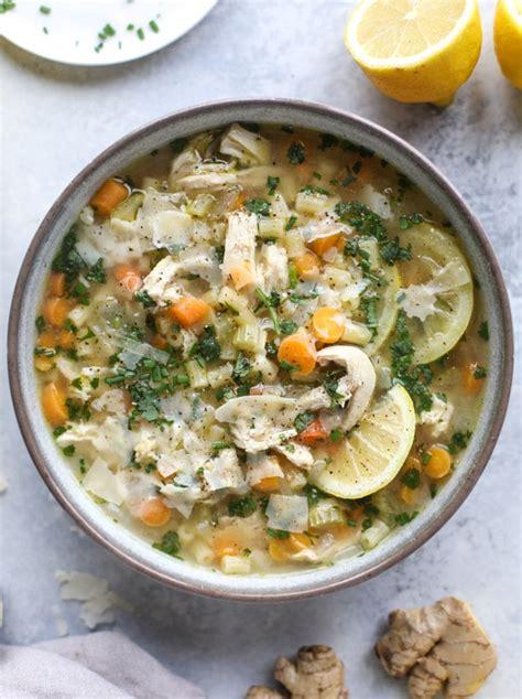 lemon chicken soup easy lemon chicken noodle soup