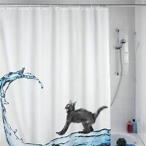 Rideau De Douche Original : un rideau de douche original transforme votre salle de bains ~ Melissatoandfro.com Idées de Décoration