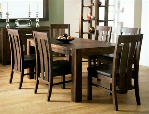 Dining Room Table And Chairs by Walnut Dining Tables And 6 Chairs Dining Room Ideas