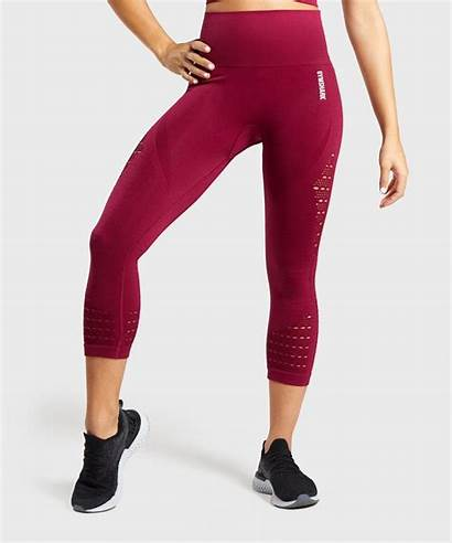 Leggings Gymshark Seamless Energy Beet Cropped Outfits