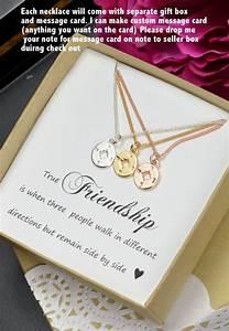 Beste Freundin Schwester Geschenk Schwester Halskette