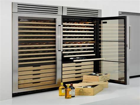 built  wine refrigerator viking cellars kitchen design ideas