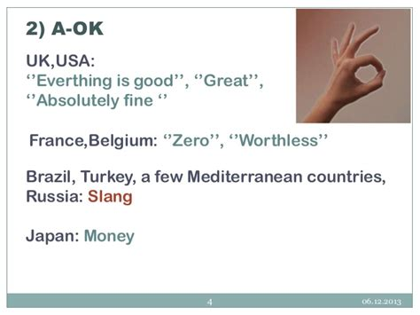 Meanings Of Hand Gestures In Differenet Cultures