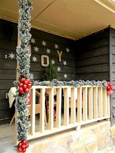Christmas, Decorating, Ideas, For, Your, Porch