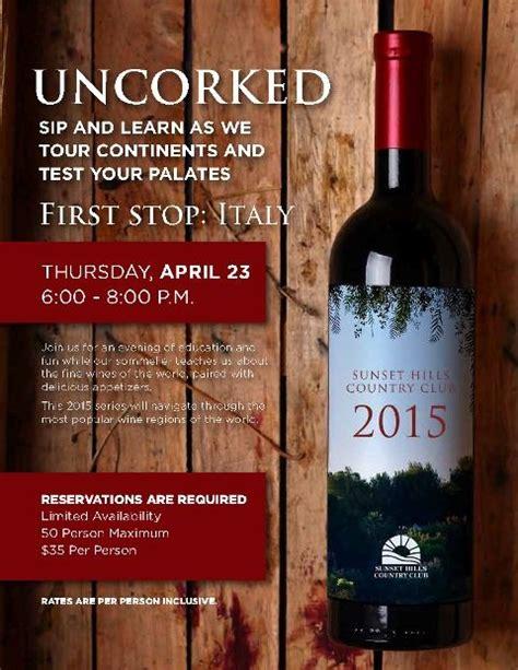 uncorked series wine    world flyer