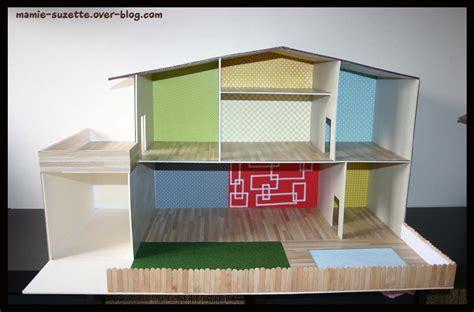 cuisine faite maison maison playmobil fait en cartonnage le de