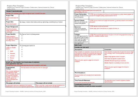 project plan templates   sample templates
