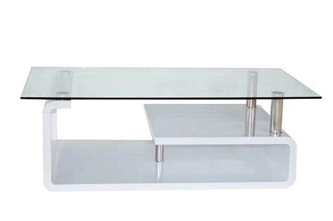 meuble de cuisine laqué table basse laquee blanc verre table basse topkoo
