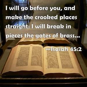 The Crooked Places | Understanding Bible Passages