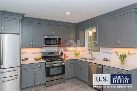 grey shaker kitchen cabinets shaker gray kitchen bathroom cabinet gallery 4088
