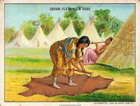 Native Americans: Ignoble Savage: The Squaw