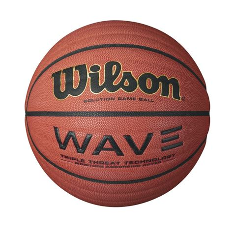 wave solution game basketball  wilson sporting goods