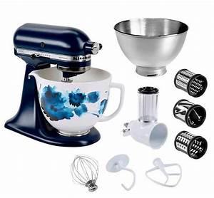 Kitchenaid Artisan Schüssel : kitchenaid k chenmaschine artisan 5ksm156cwceib mit gratis gem seschneider 3 trommeln sowie 3l ~ Yasmunasinghe.com Haus und Dekorationen