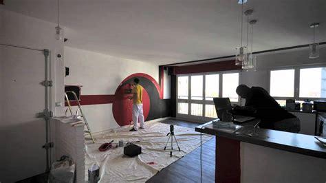 salon cuisine design wall design salon cuisine américaine