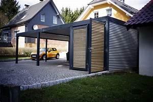 Aluminium Carport Mit Abstellraum : metallcarport stahlcarport kaufen metall carport preise mit abstellraum konfigurator design wien ~ Markanthonyermac.com Haus und Dekorationen