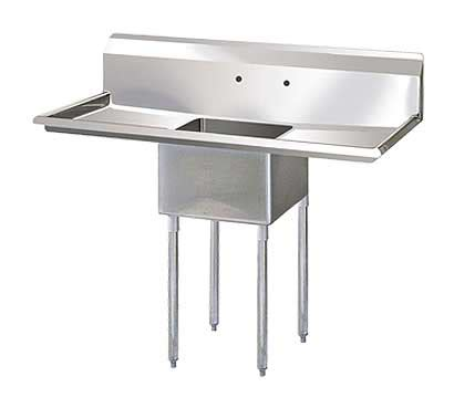 14 inch deep kitchen sink single compartment 14 inch deep stainless sink 24 quot drainboards