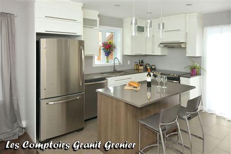 comptoire cuisine comptoir de granit et quartz comptoirs de cuisine en quartz
