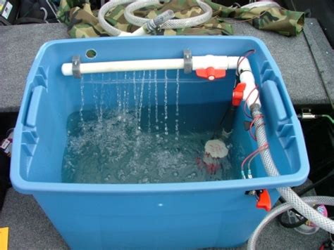 How To Build A Livewell In A Boat by Building A Livewell Tinboats Net