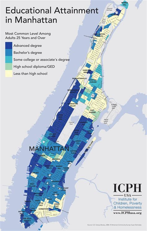 Educational Attainment In Manhattan, New York City  Visual. Black Belt Resume. Latest Career Objectives For Resume. Are Professional Resume Services Worth It. Resume For Older Workers. A Good Summary For A Resume. What Do You Write In Email When Sending Resume. Resume For Architecture Student. Sending Resume By Email