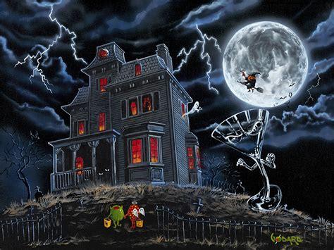 halloween haunted house  michael godard michale godard