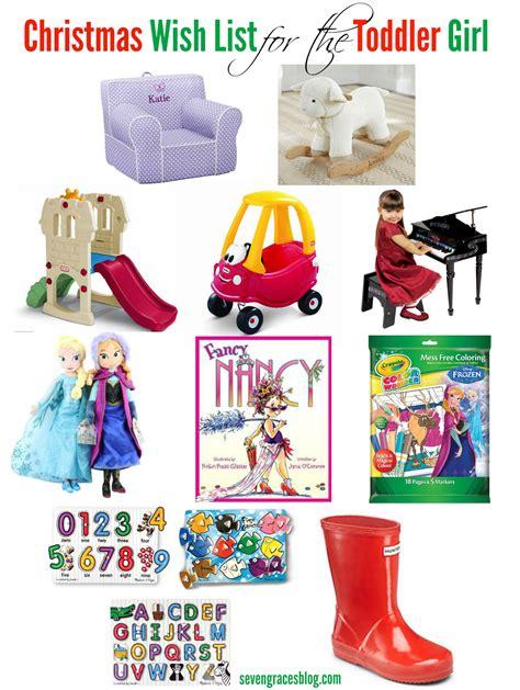 Christmas Wish List For The Toddler  Ee  Seven Ee   Graces
