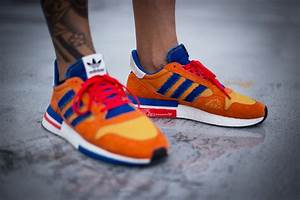Mesh Design An On Foot Look At The Zx500 Rm Quot Goku Quot From Adidas