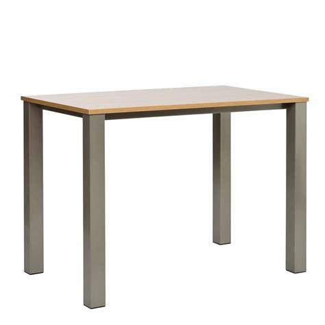 table de cuisine en stratifie table de cuisine en stratifi 233 quinta mange debout hauteur 110cm 4 pieds tables chaises