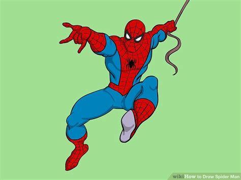 ways  draw spider man wikihow
