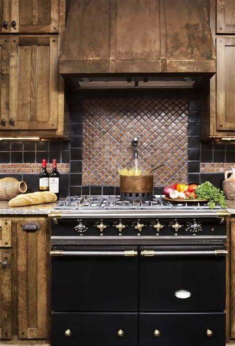 copper backsplash tiles for kitchen copper tile backsplash kitchen contemporary with accent
