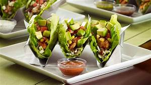 Mediterranean Chicken Lettuce Wrap Tacos