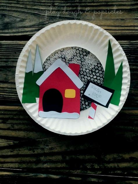 paper plate north pole fun family crafts