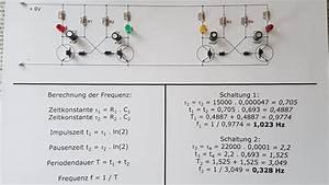 Hz Berechnen : astabiler multivibrator aufbau schaltplan schaltzeit frequenz youtube ~ Themetempest.com Abrechnung