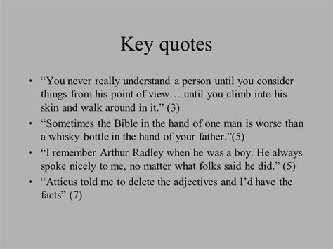 Atticus Finch Quotes With Page Numbers Quotes And Page Numbers