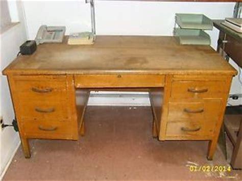 Antique Teachers Desk Ebay by O2 Teachers Antique Solid Oak Wood Swivel Office Bankers