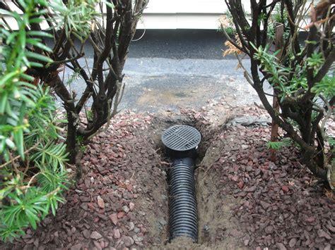 Catch Basin In Backyard by Catch Basins Yard Drains Albany Schenectady Ny