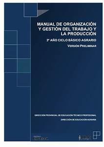 Manual De Organizaci U00f3n Y Gesti U00f3n Del Trabajo Y La Producci U00f3n