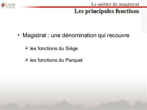 magistrat du siege diaporama de presentation de l 39 enm 2014 2